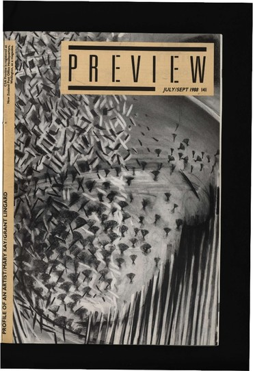Canterbury Society of Arts Preview, number 141, July/[August]/September 1988