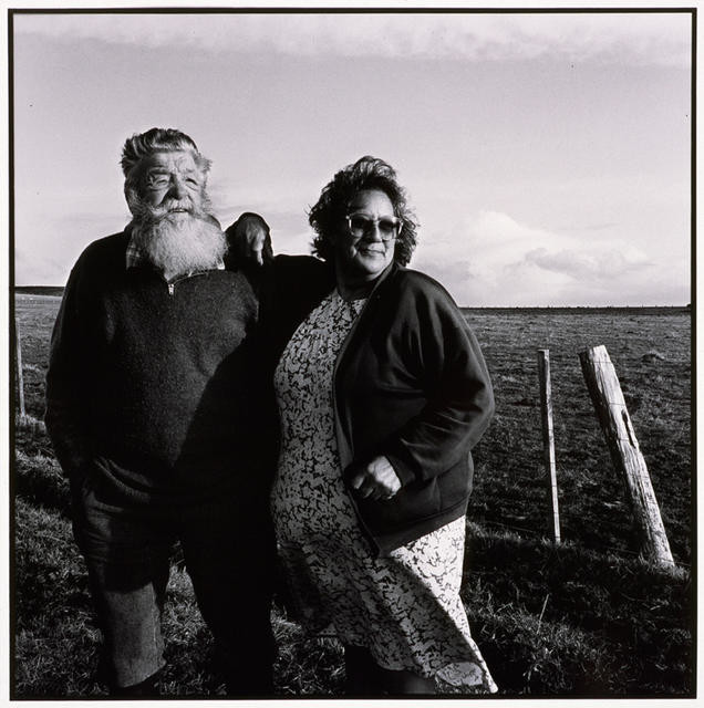 Ron and Ollie Seymour, Chatham Island