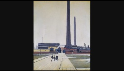 L.S. Lowry - Factory at Widnes