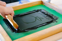 SOLD OUT Screen-printing Workshop for Kids