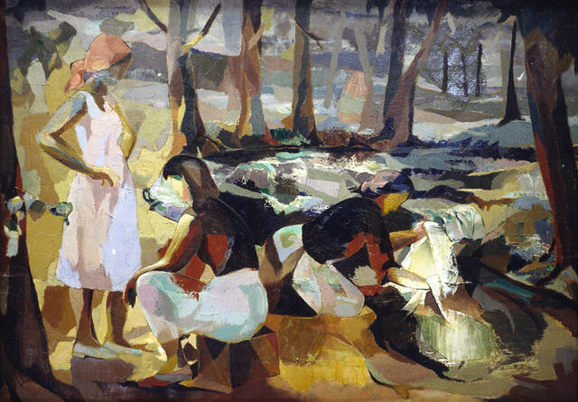 Washerwomen in Provence