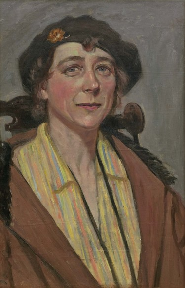 Daisy Osborn Rose Margaret Zeller c.1936. Oil on canvas. Collection of Christchurch Art Gallery Te Puna o Waiwhetū