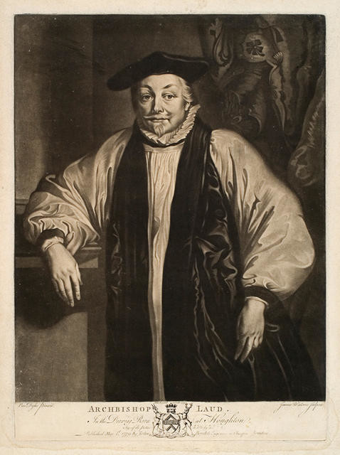Archbishop Laud (In The Drawing Room At Houghton)