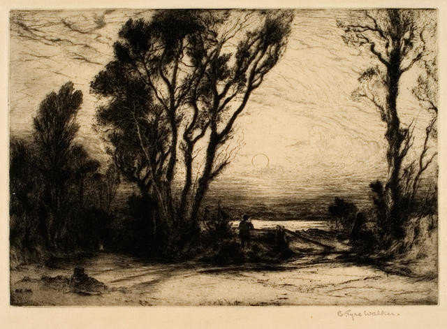 The Flooded Valley, 1914