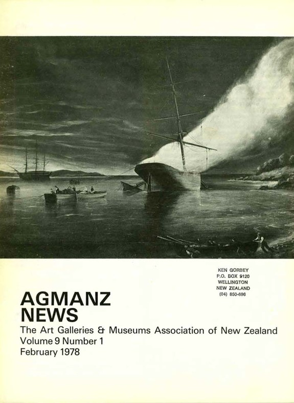 AGMANZ News Volume 9 Number 1 February 1978