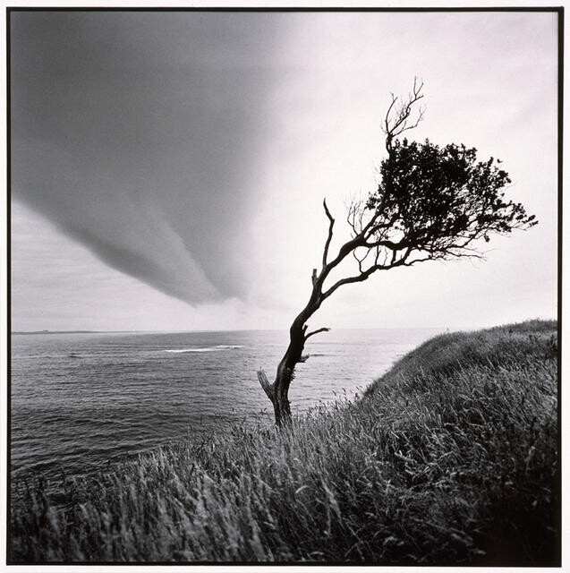 Storm cloud over Owenga, Chatham Island