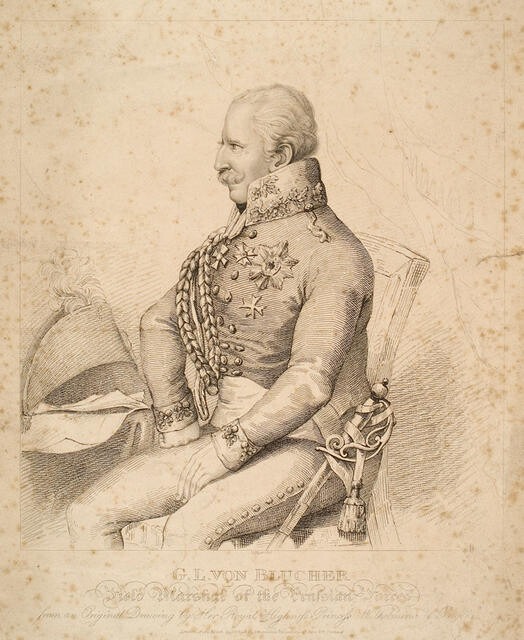 G. L. Von Blucher, Field Marshal Of The Prussian Forces