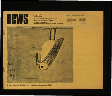 Canterbury Society of Arts News, number 48, March 1973