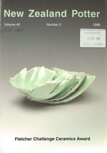 New Zealand Potter volume 40 number 2, 1998