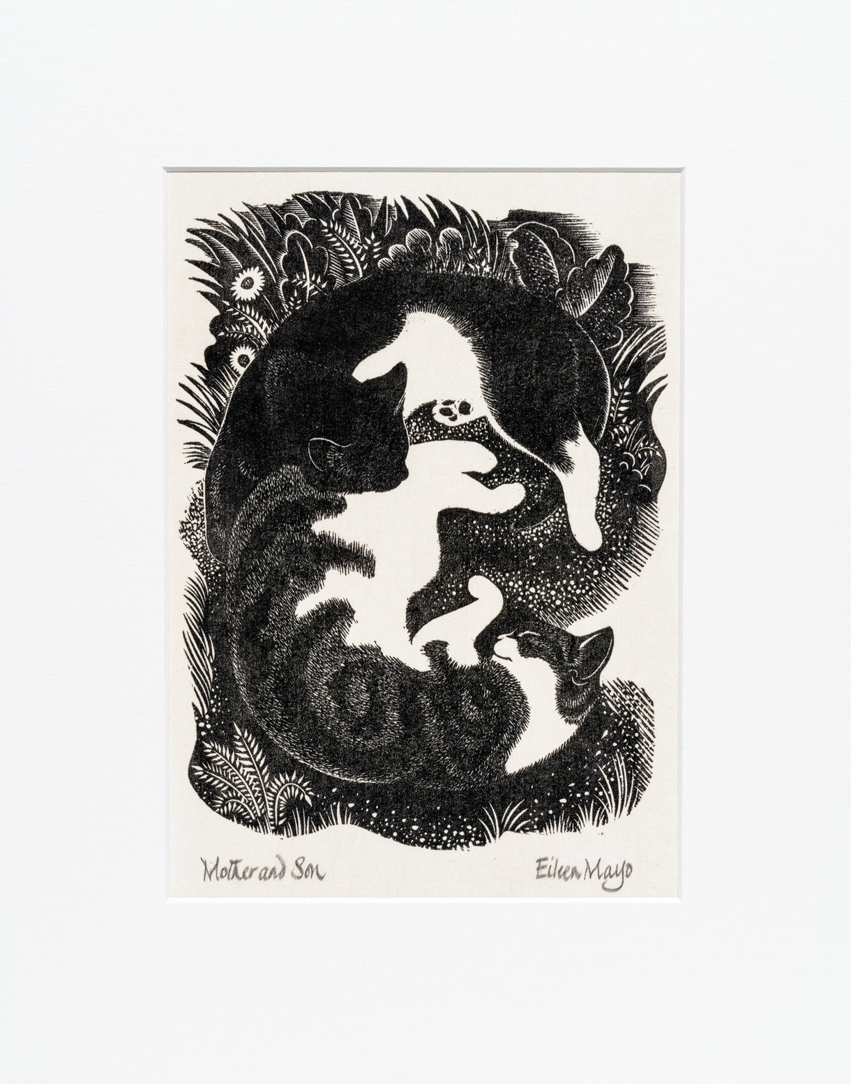 Mother and Son - Print