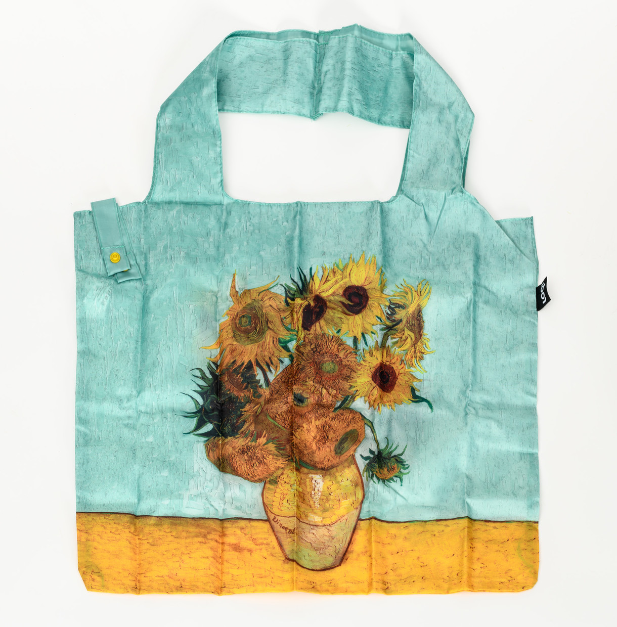 Vase with Sunflowers Shopping Bag