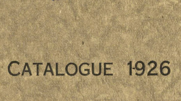 CSA catalogue 1926