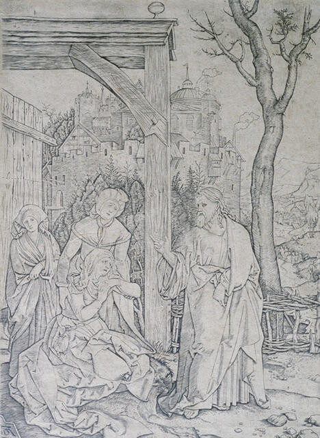 Christ Taking Leave of His Mother, from The Life of the Virgin, after Albrecht Dürer