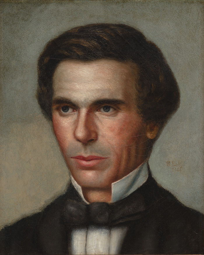 Samuel Butler Portrait of John Marshman 1861. Oil on canvas. Collection of Christchurch Art Gallery Te Puna o Waiwhetu, purchased 1996