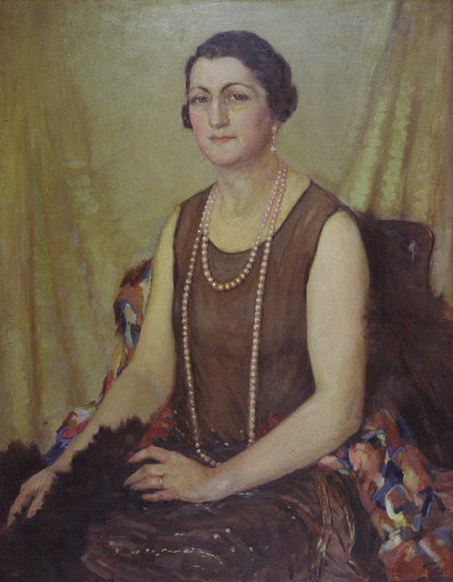 Portrait of Frederika Ballin