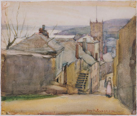 St Ives, Barnoon Hill, 1910