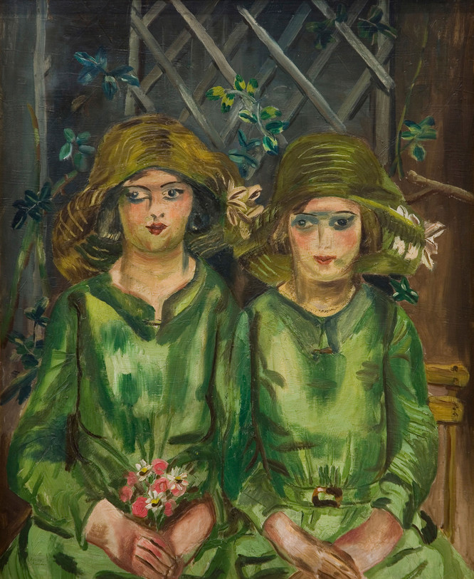 Frances Hodgkins Bridesmaids 1930. Oil on canvas. Collection of Auckland Art Gallery Toi o Tāmaki, gift of Lucy Carrington Wertheim, 1948