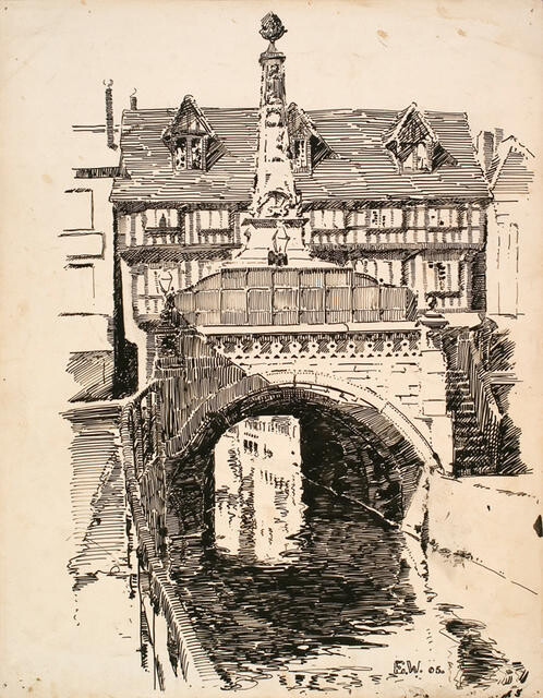 The High Bridge, Lincoln