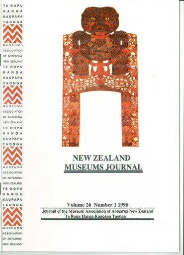 NZMJ Volume 26 Number 1 Autumn 1996
