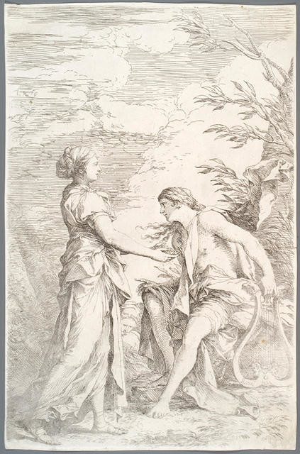 Apollo and the Cumaean Sybil