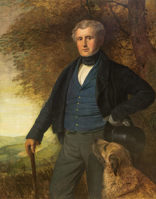Portrait of John Crossley of Scaitcliffe M.A. Todmorden