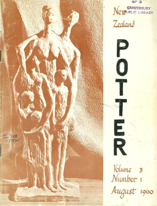 New Zealand Potter volume 3 number 1, August 1960