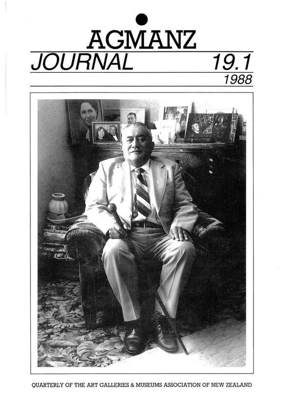AGMANZ Journal Volume 19 Number 1 1988