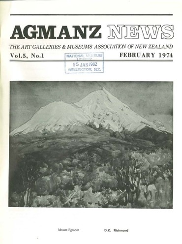 AGMANZ News Volume 5 Number 1 February 1974