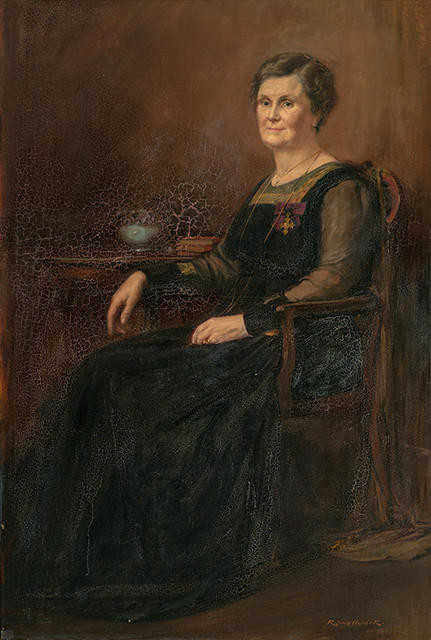 Portrait of Mrs Holland