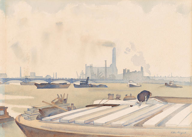 The Thames from Chelsea