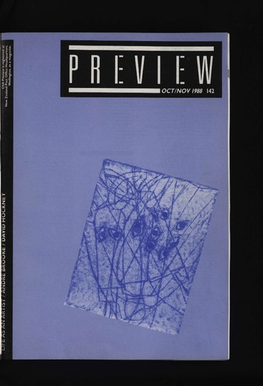 Canterbury Society of Arts Preview, number 142, October/November 1988