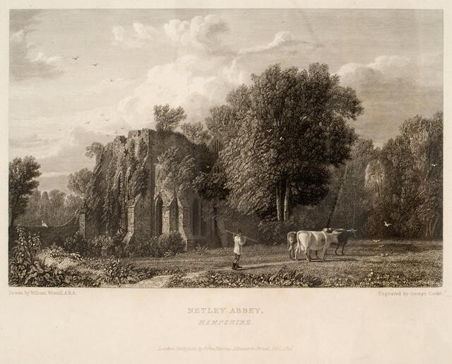 Netley Abbey, Hampshire