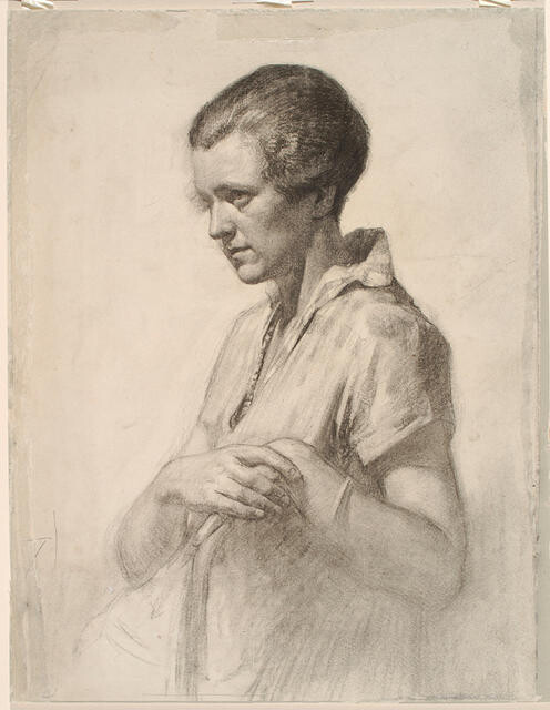 Portrait of a woman (Drawing of a woman)