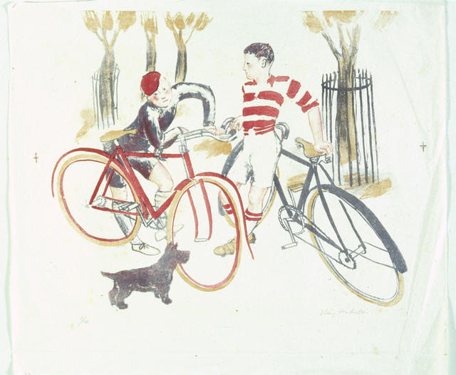 Boys with Bicycles