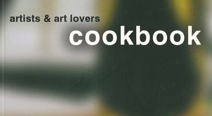 Artists and art lovers cookbook