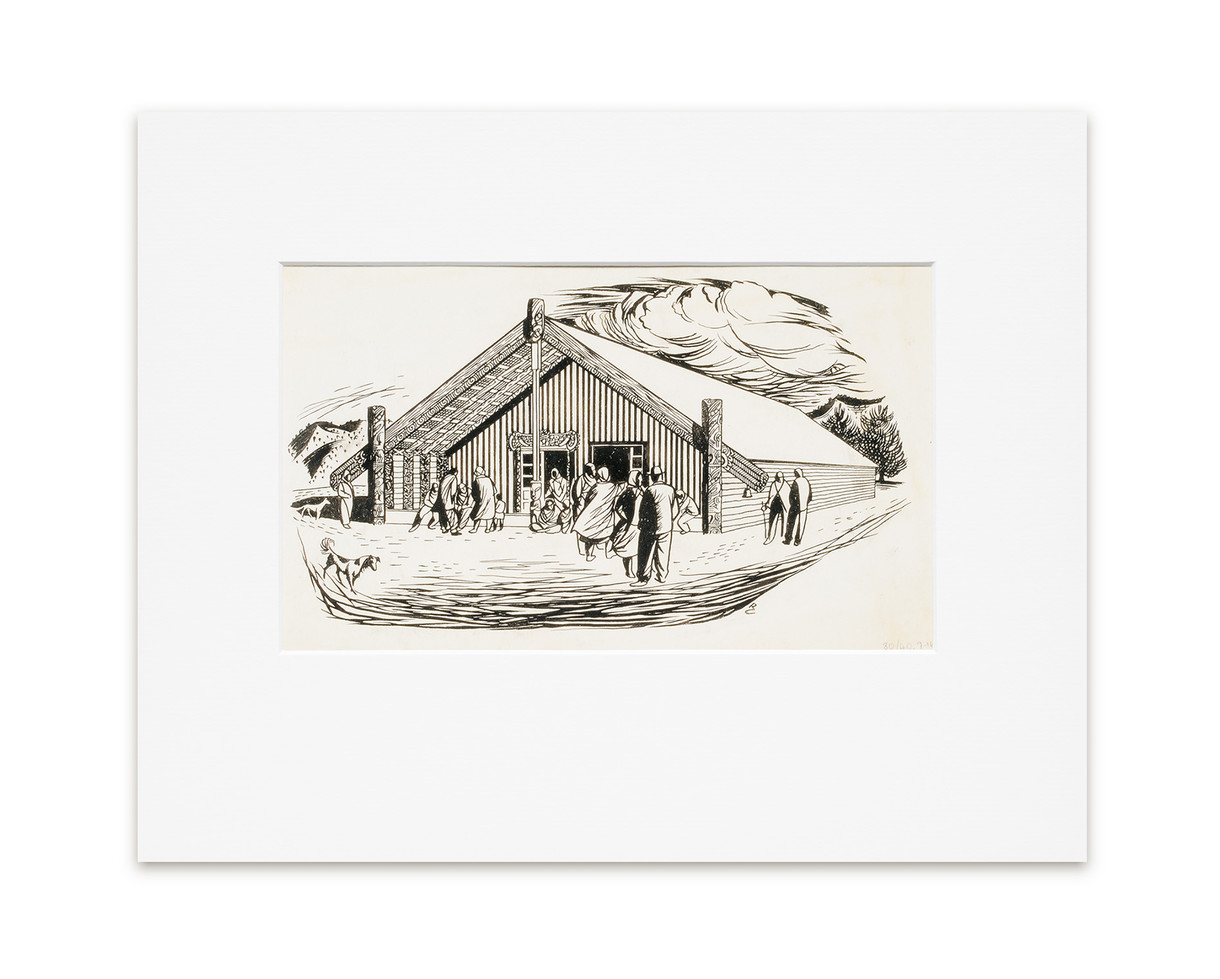 The Meeting House - Print