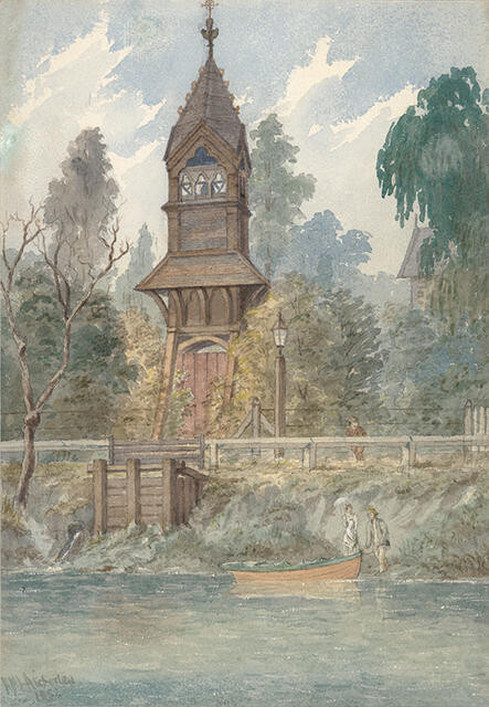 The Bell Tower of St Michael's and All Angels, Christchurch