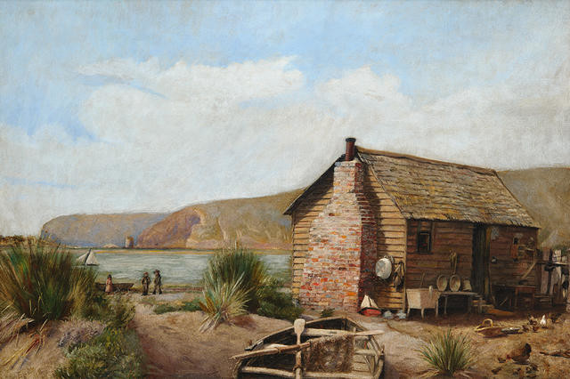Fisherman's Hut, Redcliffs