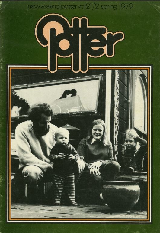 New Zealand Potter volume 21 number 2, Spring 1979
