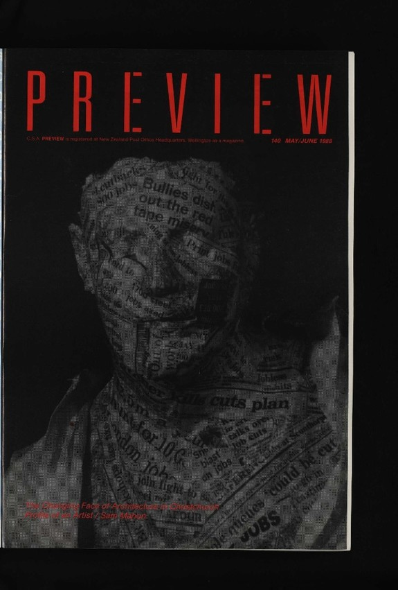 Canterbury Society of Arts Preview, number 140, May/June 1988