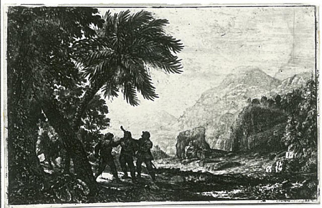 Attack By Bandits In Landscape Setting