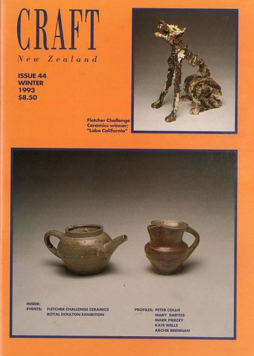 Craft New Zealand issue 44, Winter 1993