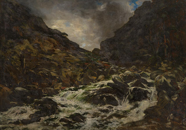 Mountain Stream, Otira Gorge