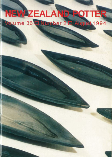 New Zealand Potter volume 36 number 2, August 1994