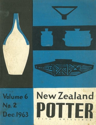 New Zealand Potter volume 6 number 2, December 1963