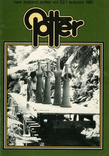 New Zealand Potter volume 23 number 1, Autumn 1981