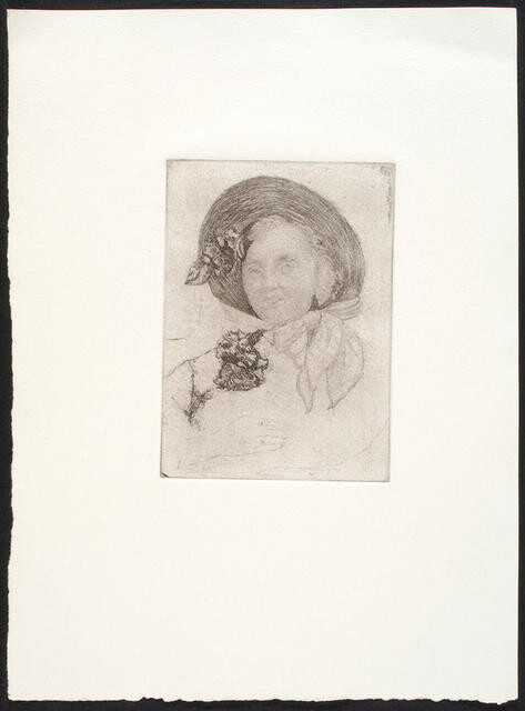 Untitled (Woman with a bonnet)