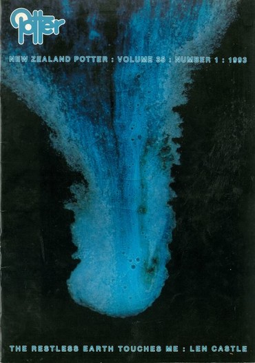 New Zealand Potter volume 35 number 1, 1993