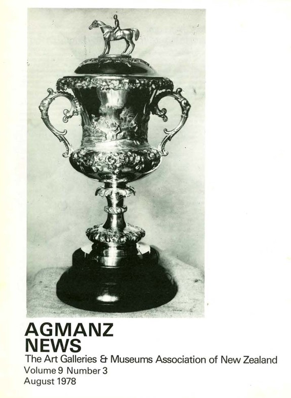 AGMANZ News Volume 9 Number 3 August 1978