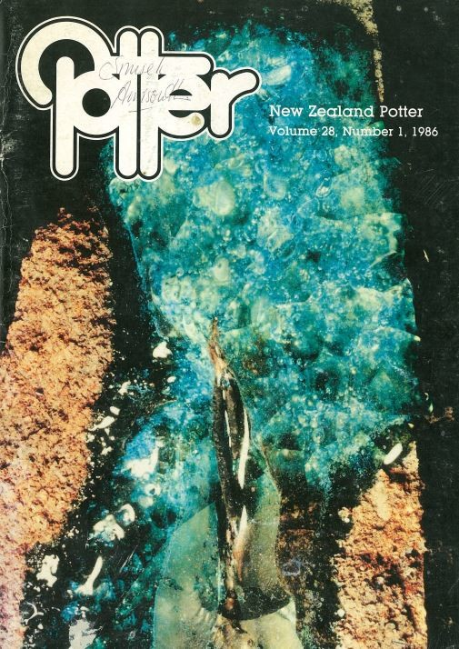 New Zealand Potter volume 28 number 1, 1986
